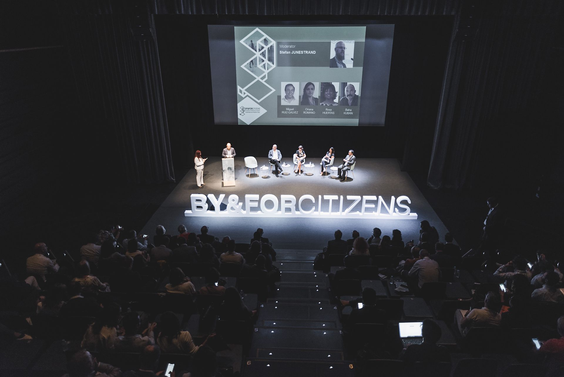 Valladolid, conferenza BY&FORCITIZENS