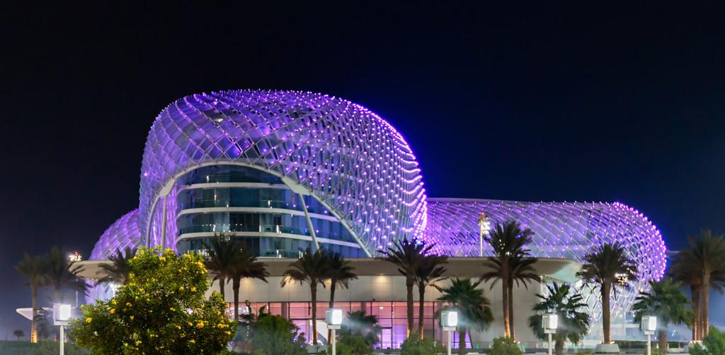 Yas Marina LED Illumination