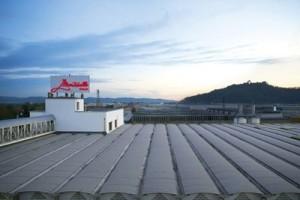 Vista dal tetto della Conceria Montebello Spa